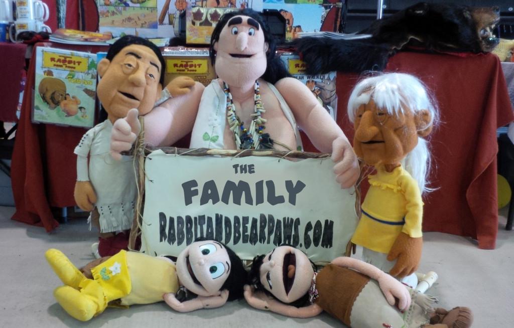 the family puppets - ottawa pow wow